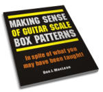 Making Sense of Guitar Scale Box Patterns In Spite of What You May Have Been Taught