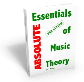 Absolute Essentials of Music Theory for Guitar.