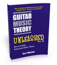 Guitar Music Theory Unleashed: How to Totally Understand Guitar Theory Print Edition