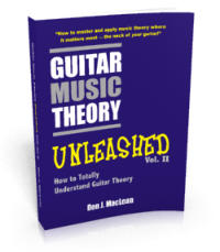 Guitar Music Theory Unleashed: How to Totally Understand Guitar Theory Digital Edition